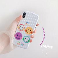 【N461】★ iPhone 6 / 6sPlus / 7 / 7Plus / 8 / 8Plus / X/XS / Xr /Xsmax ★ シェルカバー ケース Today Smile