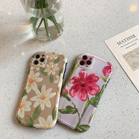 【C160】★ iPhone 11/11Pro/11ProMax/7 / 7Plus / 8 / 8Plus / X/ XS / Xr /Xsmax ★  ケース スマホカバー Flowers