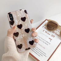 【N301】★ iPhone 6 / 6sPlus / 7 / 7Plus / 8 / 8Plus / X/XS / Xr /Xsmax ★ シェルカバー ケース Heart♥