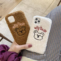 【N905】★ iPhone 11/Pro/ProMax/7/7Plus /8/ 8Plus / X/ XS / Xr /Xsmax ★ シェルカバー ケース whyBear