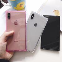 【N281】★ iPhone 6 / 6sPlus / 7 / 7Plus / 8 / 8Plus / X/XS / Xr /Xsmax ★ シェルカバー ケース クリア