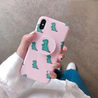 【M113】★ iPhone 6 / 6sPlus / 7 / 7Plus / 8 / 8Plus / X/XS/XR/Xs Max ★ シェルカバーケース Cute in green