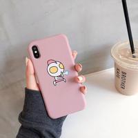 【M135】★ iPhone 6 / 6sPlus / 7 / 7Plus / 8 / 8Plus / X/XS/XR/Xs Max ★ シェルカバーケース Cute in Pink