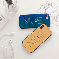 【M232】★ iPhone 6 / 6sPlus / 7 / 7Plus / 8 / 8Plus / X/XS / Xr /Xsmax ★ シェルカバー ケース Circle Nice Smile