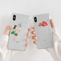 【N595】★ iPhone 6 / 6sPlus / 7 / 7Plus / 8 / 8Plus / X /XS /XR/Xs max★ シェルカバーケース  可愛い
