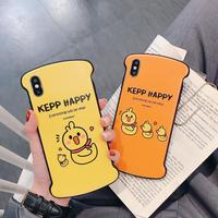 【N423】★ iPhone 6 / 6sPlus / 7 / 7Plus / 8 / 8Plus / X /XS /XR/Xs max★ シェルカバーケース Duck