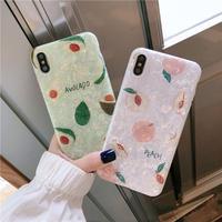 【N432】★ iPhone 6 / 6sPlus / 7 / 7Plus / 8 / 8Plus / X /XS /XR/Xs max★ シェルカバーケース Summer
