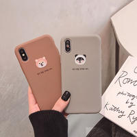 【N287】★ iPhone 6 / 6sPlus / 7 / 7Plus / 8 / 8Plus / X /XS /XR/Xs max★ シェルカバーケース  可愛い