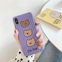 【N739】★iPhone 6  / 6sPlus / 7 / 7Plus / 8 / 8Plus / X / Xs ./XR/XsMax ★iPhone ケース bear