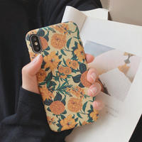 【N484】★iPhone 6 / 6s / 6Plus / 6sPlus / 7 / 7Plus / 8 / 8Plus / X / Xs ★iPhone ケース Sunflowers