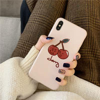 【N174】★ iPhone 6 / 6sPlus / 7 / 7Plus / 8 / 8Plus / X/XS / Xr /Xsmax ★ シェルカバー ケース Cheery Cherry