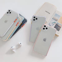 【C243】★ iPhone SE/11/11Pro/11ProMax/7 / 7Plus / 8 / 8Plus / X/ XS / Xr /Xsmax ★  ケース 6色 シンプル