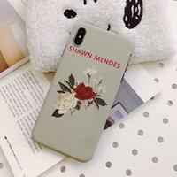 【N346】★iPhone 6 / 6s / 6Plus / 6sPlus / 7 / 7Plus / 8 / 8Plus / X / Xs ★iPhone ケースSpring flower