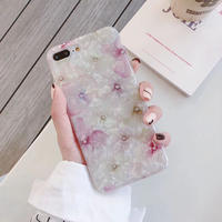 【N334】★iPhone 6 / 6s / 6Plus / 6sPlus / 7 / 7Plus / 8 / 8Plus / X / Xs ★iPhone ケース 花