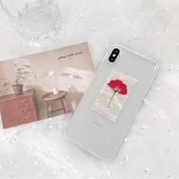 【N314】★iPhone 6 / 6s / 6Plus / 6sPlus / 7 / 7Plus / 8 / 8Plus / X / Xs ★iPhone ケース Flower