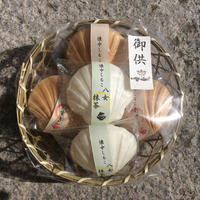 御供菓子 (小豆おしるこ3個、抹茶おしるこ2個入り)