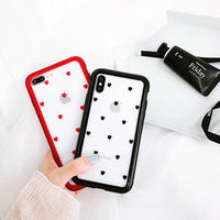 Magnetic Mini Hearts iPhone case