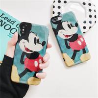 【Disney】Classic Mickey Green iPhone case