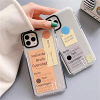 tls. Label Clear iPhone case