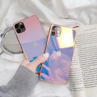 Laser Blue Light Mirror iPhone case