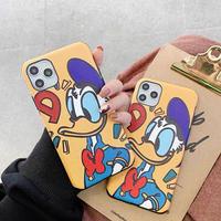 【Disney】Yellow Donald iPhone case