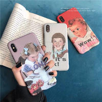 Wow! Oh! It's Ok! Girls iPhone case