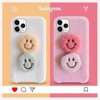 2 Furry Smile Winter iPhone case