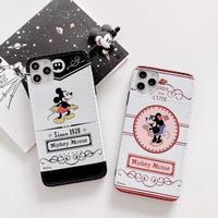 【Disney】Mickey Minnie Black Red iPhone case