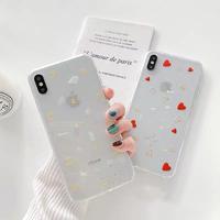 Moon Heart Glitter iPhone case