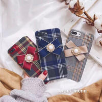 Plaid Ribbon iPhone case