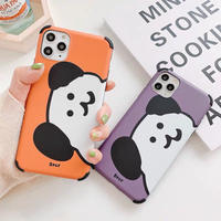 Purple Orange Bear iPhone case