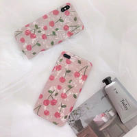 Cherry Pink Shell iPhone case