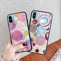 Water Paint  Glitter iPhone case