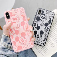 【Disney】Mickey Marble Leather iPhone case