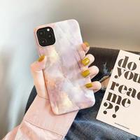 Purplepink Marble iPhone case