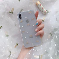 Pearl Ribbon iPhone case