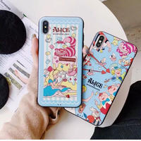 【Disney】Alice in Wonderland III iPhone case