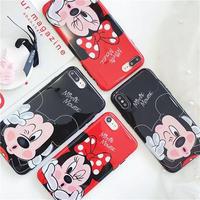 【Disney】Mickey&Minnie iPhone case