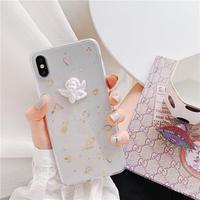 Angel Gold Glitter iPhone case