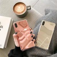 Laser Mirror Rose Gold Sliver iPhone case