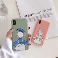 【Disney】Donald&Daisy Duck iPhone case