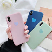 One Heart Pastel iPhone case