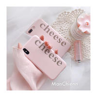 Pink Cheese iPhone case