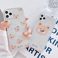 Pink Cheek Bear iPhone case