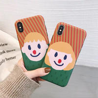 Couple Head Shot  iPhone case