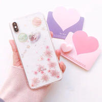 Dry Flower Universe Clear iPhone case