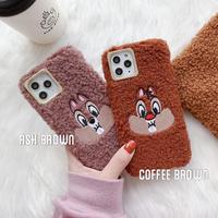【Disney】Furry Chip n Dale iPhone case
