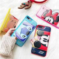 【Disney】Disney Card Case iPhone Case