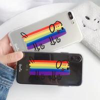 Rainbow Doggy iPhone case