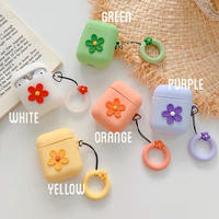 Flower AirPods case